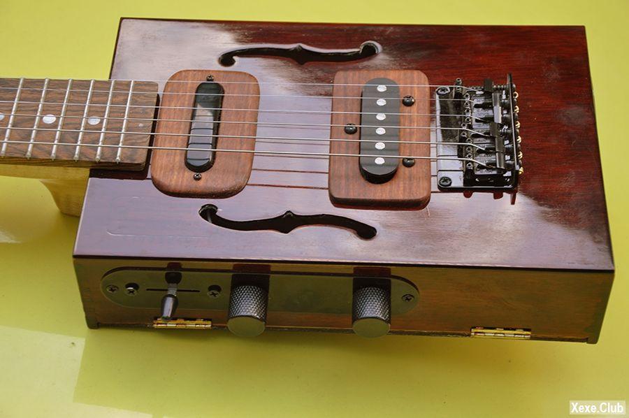 электро-сигар бокс гитара