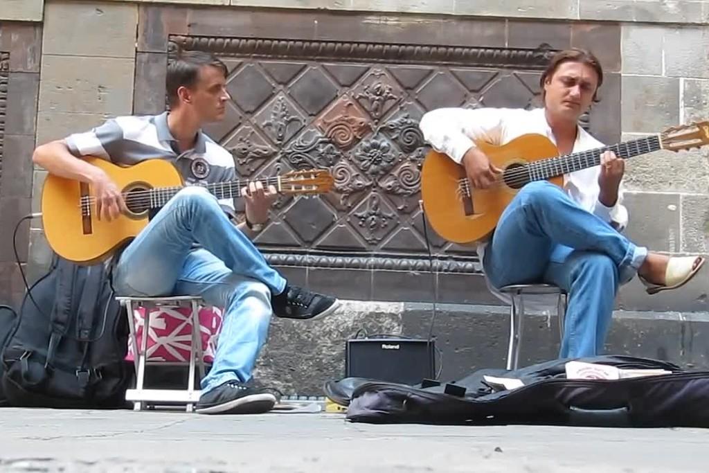 уличные гитаристы