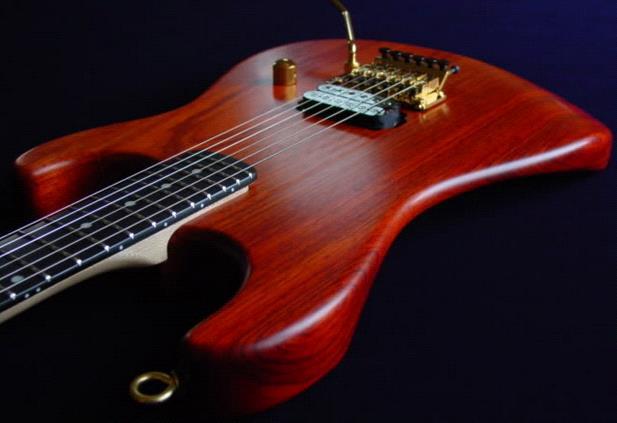 финишное покрытие гитары