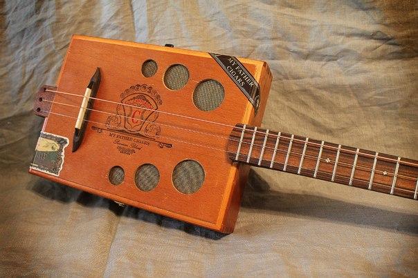 сигар-бокс гитара