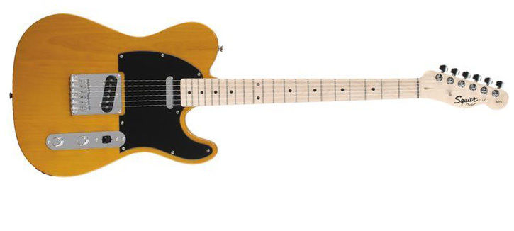 гитара модели squier affinity telecaster