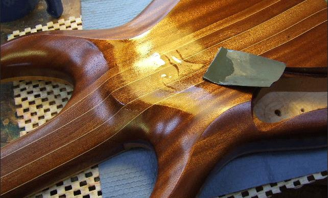 Масляные и восковые покрытия для гитары