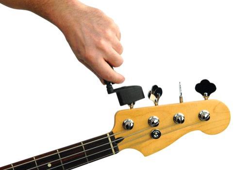 замена струн на бас гитаре