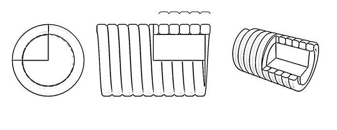 Плоская обмотка струн