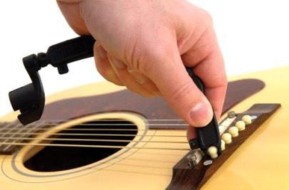 как снять струны на гитаре