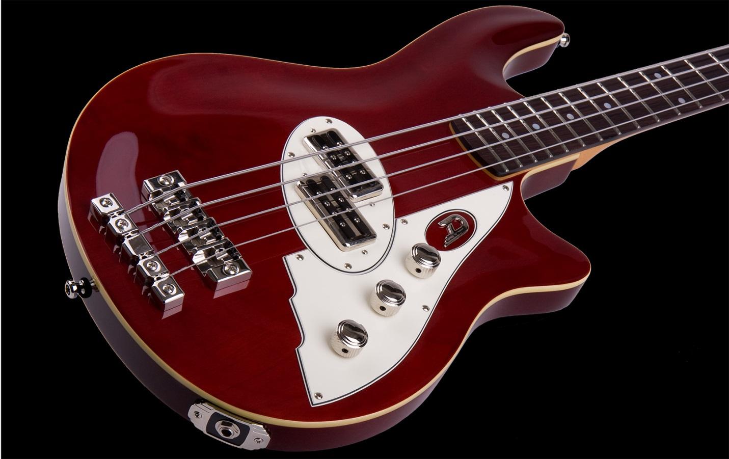 бас-гитара duesenberg