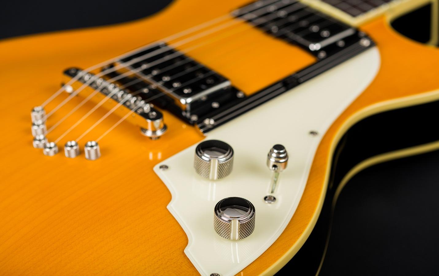 цельнокорпусная гитара 49er