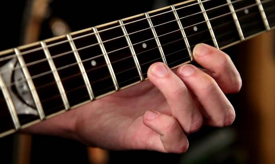 hammer-on гитарный прием