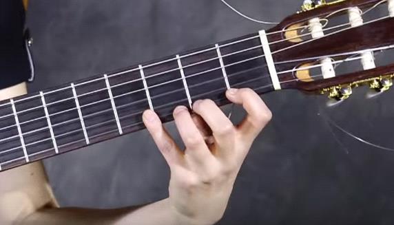 положение кисти во время игры на гитаре
