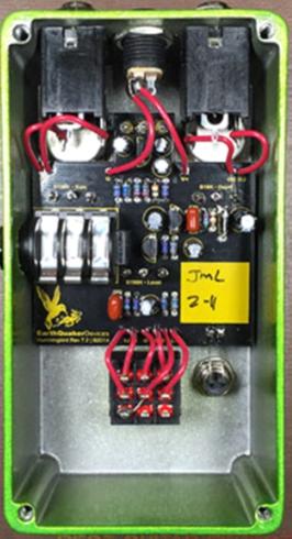 EarthQuaker Hummingbird схема