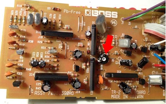 Boss TR-2 схема