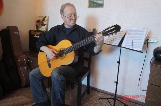 Правильная посадка гитариста
