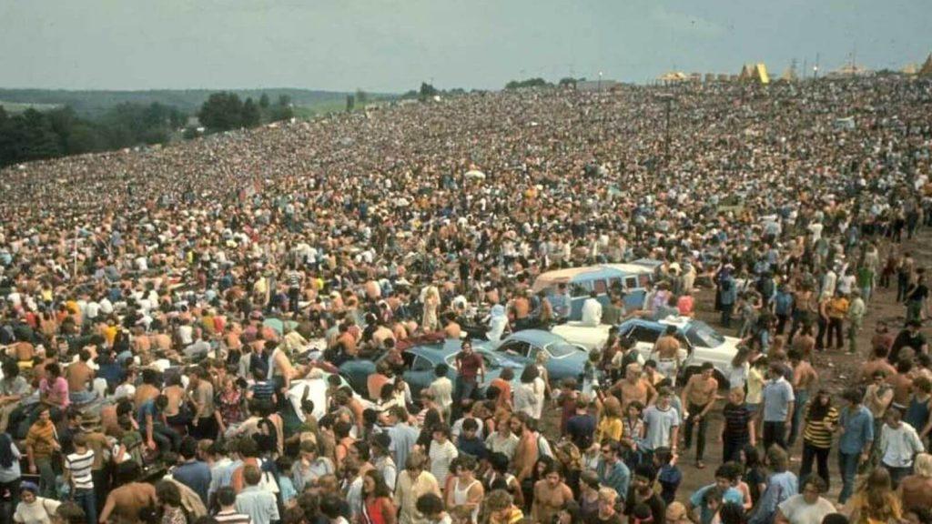Рок фестиваль Woodstock