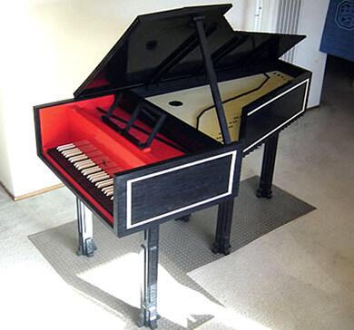LEGO клавесин