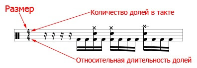 Музыкальный размер