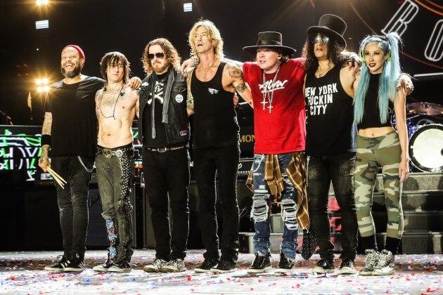 Приближается осенний тур Guns N' Roses