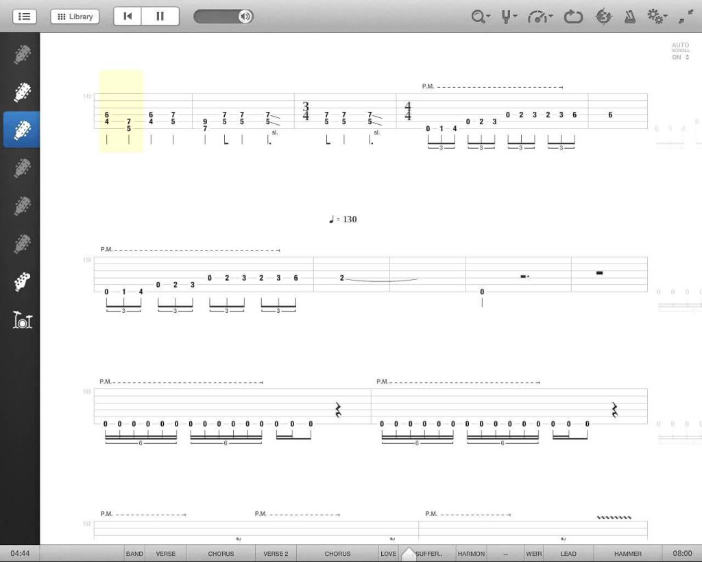 Программа Go PlayAlong для гитаристов