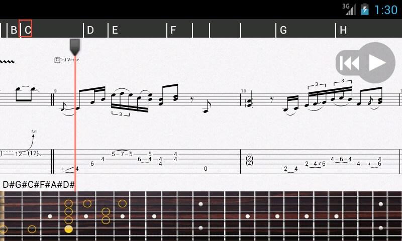 Guitar pro для гитаристов с android