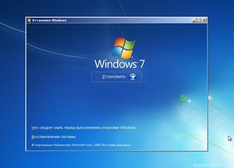 Устанавливаем ОС Windows